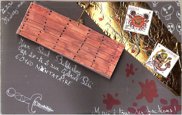 c'est le bois du cercueil... par Maélie