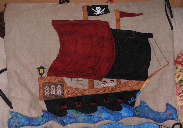 bateau pirates pour Numa