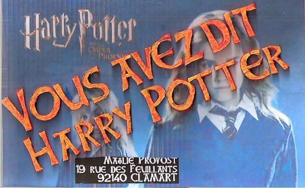 l'appel à mailart de Maëlie... avec hermione, qu'elle adore!