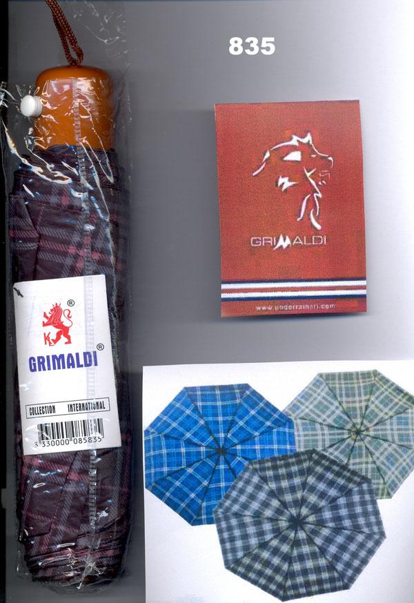 835 Grimaldi écossais premier prix avec étui transparent sans housse