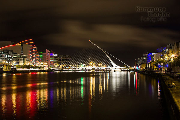 Samuel Beckett Bridge/Convention Centre