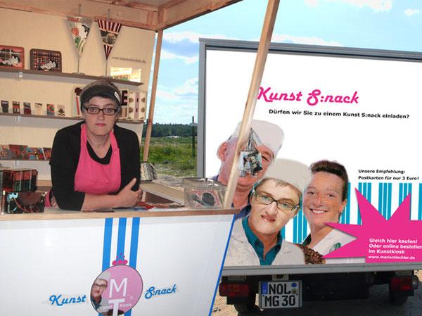 Kunst S:nack - der mobile Kunstkiosk