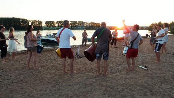 Escola de Samba Team-Drumming zum nachhaltigen Erleben wahren Teamgeists