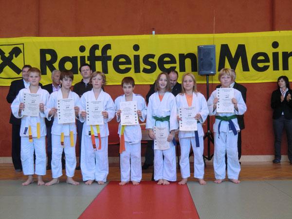 Schülermannschafts-Landesmeisterschaft in Frauenkirchen am 14. November 2010