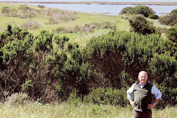 「ここは特別な場所です」とエルクホーン湿地帯基金のエグゼクティブ・ディレクターのマーク・シルバーステインが言う。「人々が今までにない方法で自然資源にかかわる素晴らしい機会を与えてくれるからです」Nic Coury