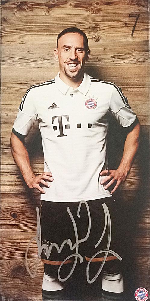 Franck Ribery Autograph Autogramm