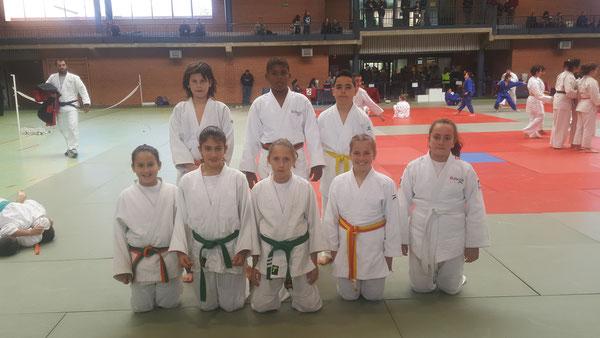 Grupo Alevín sub-13.