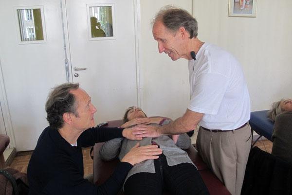 Le Dr Donald Hankinson DO lors du cours donné à la SOFA en 2011