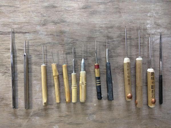 陶芸家仲本律子のブログ。陶芸道具の針を作ってもらいました。