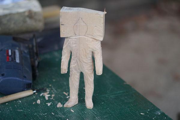 陶芸家 ブログ 茨城県笠間市 ものづくり 木彫り ウルトラマン