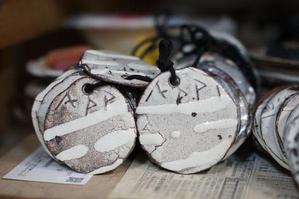 仲本律子 R工房 茨城県笠間市 陶芸作家 女性陶芸家 ブログ 粉引作品