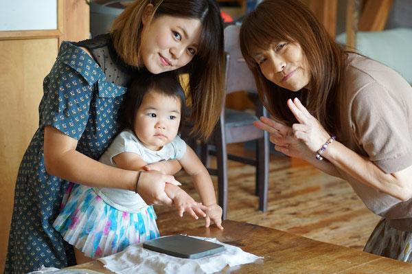 陶芸家 ブログ 茨城県笠間市 笠間焼 女性陶芸家 手形 陶板 ステキ 子供 赤ちゃん