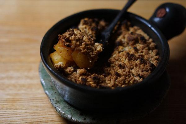 陶芸家 ブログ 茨城県笠間市 女性陶芸家 日常生活 土鍋 温かい食事 冷え取り りんごのクラフティーー