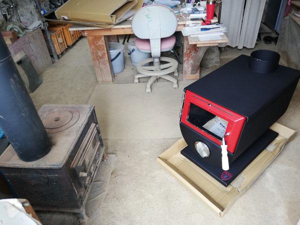 陶芸家 ブログ 茨城県笠間市 陶器 ストーブ MOKI製作所 MD-80Ⅲ 暖かい工房