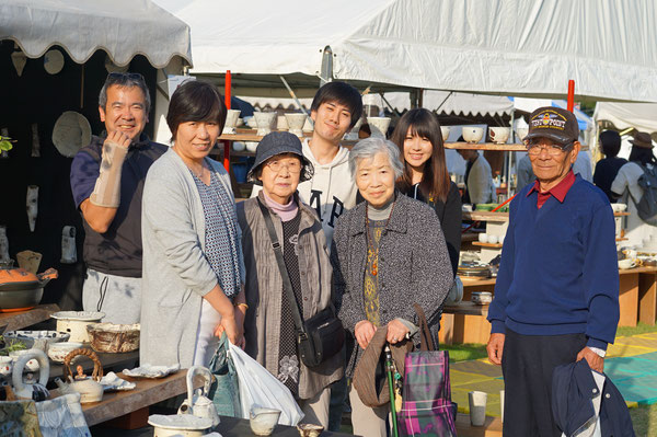仲本律子 R工房 女性陶芸家 ブログ 火まつり 笠間市 陶炎祭
