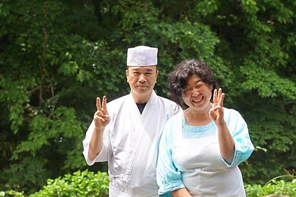 仲本律子 R工房 女性陶芸家 ブログ 小滝鉱泉 佐藤幸代