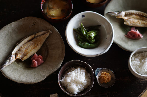 陶芸家 ブログ 焼物 笠間焼作家 土鍋 粉引 茨城県笠間市 新米 美味しいご飯 カマスの干物