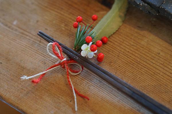 陶芸家 ブログ 茨城県笠間市 女性陶芸家 お正月 お節 箸置き