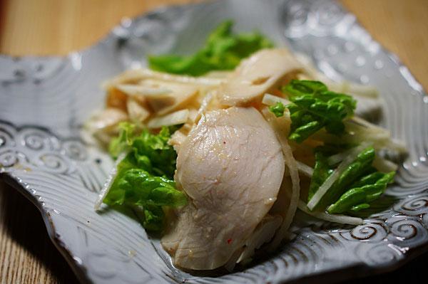 仲本律子 R工房 女性陶芸家 ブログ 鶏ハム むね肉 土鍋 料理