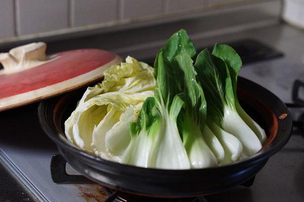 土鍋 作家物 耐熱作品 お浸し 土鍋料理 蒸し野菜 美味しい野菜 土鍋料理 陶芸家