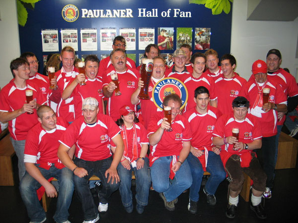 Aufnahme in Hall of Fan in der Allianz Arena