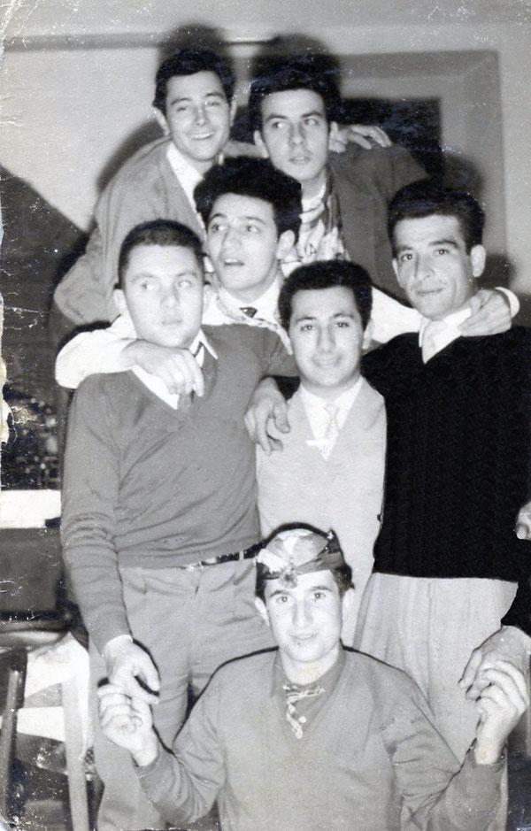 C. Francesco - F. Luigi - P. Sandro - A. Terenzio (Leva 1937)