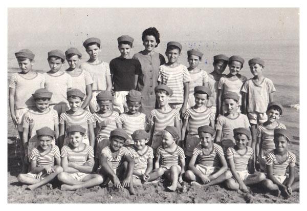 1964 - P. Nando e L. Ercole in Colonia a Misano Adriatico.