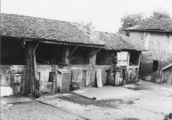 Cortile di via Meraviglia (1960)