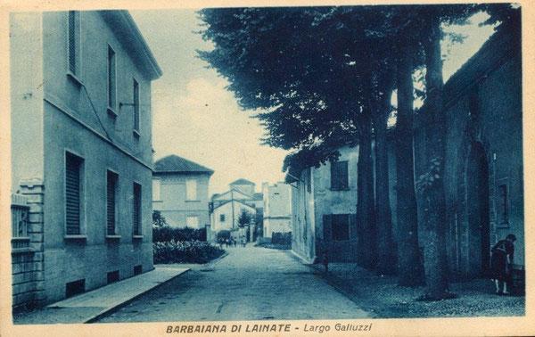 Prevostina, Largo Galluzzi - Via Roma (1952)