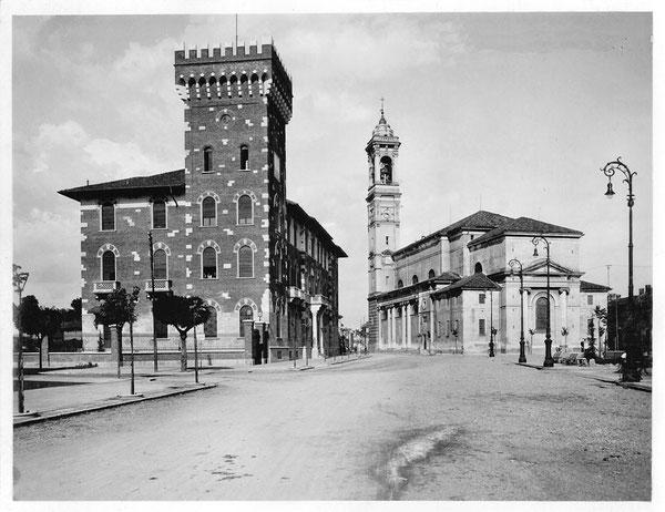 Rho - Comune e Chiesa S. Vittore (1940)