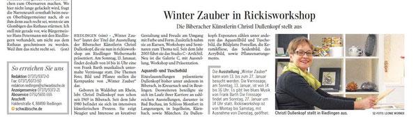 Schwäbische Zeitung 11.01.13