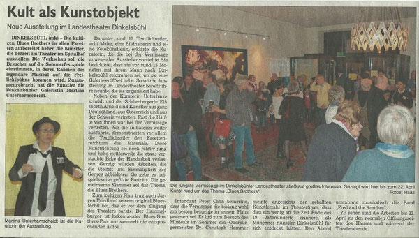 fränkische landeszeitung 15.01.13 ich bin im Bild rechts ganz rechts mit hut