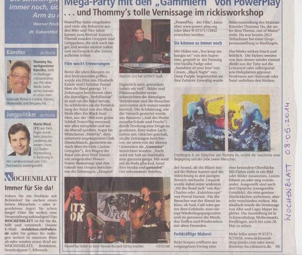 Wochenblatt 08.05.14