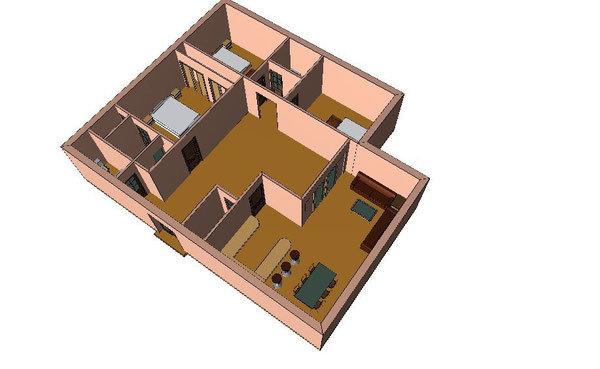 Plan villa Passion