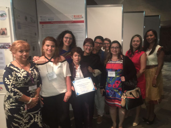Durante el XV  Coloquio Panamericano de Investigación en Enfermería. México  DF. 2016