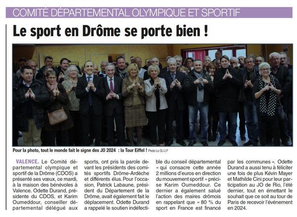 : Dauphiné du 18 janvier 2017