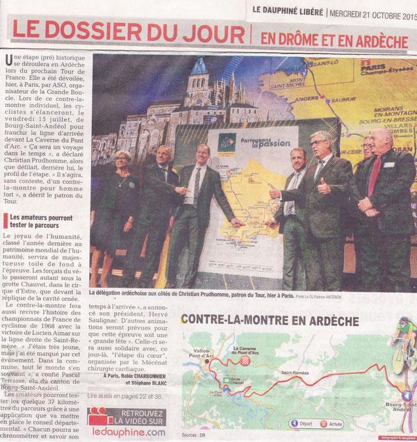 Ardèche- Bourg Saint-Andéol, contre la montre 2016