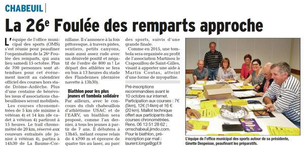 Dauphiné du 27-09-2016