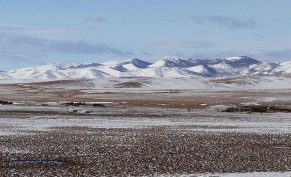 Les paysages, blanchis par la neige fraichement tombée, ont bien changé