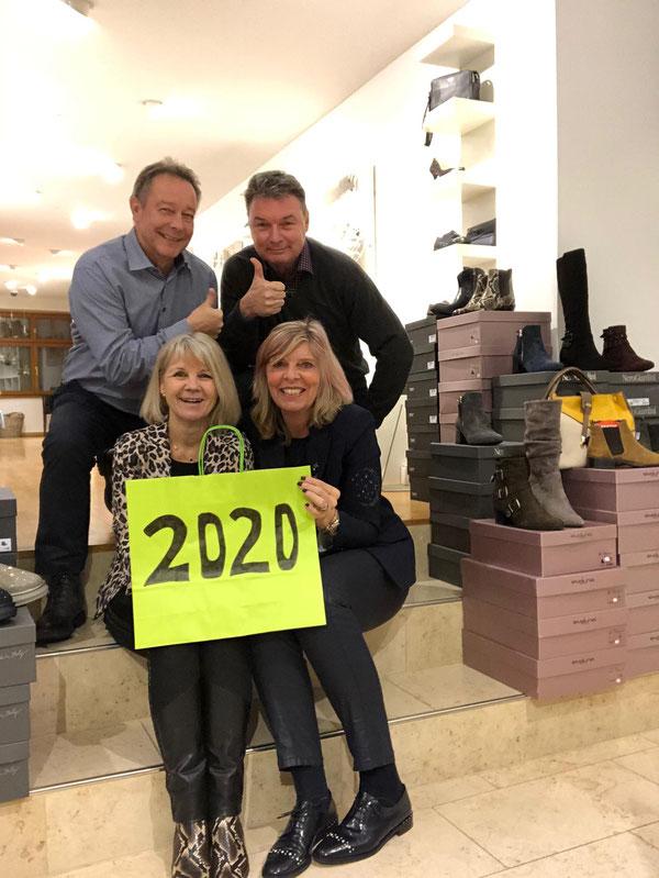 Team HoH 2019/20, Gisela & Urs, Esthy & Martin