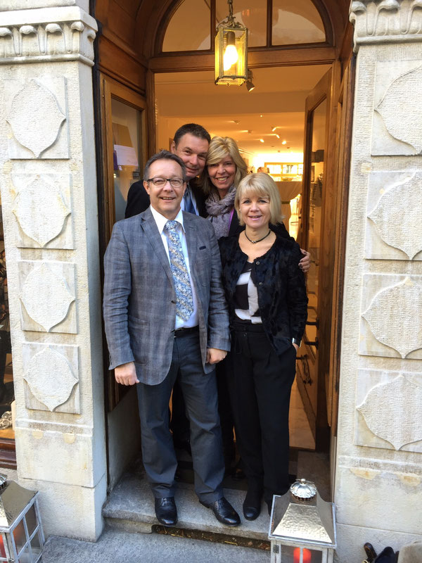 Martin & Esthy, Urs & Gisela, Januar 2015