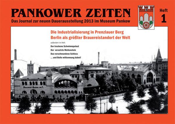 Das Titelblatt der Pankower Zeiten aus dem Jahr 2013