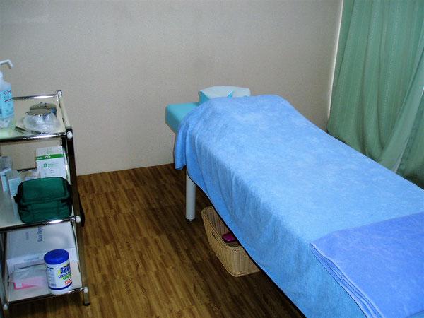 あじさい鍼灸マッサージ治療院 施術室の様子