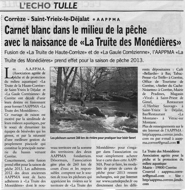 L'Echo - Article du 06/02/2013