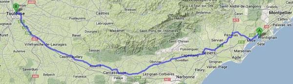 Balaruc - Toulouse
