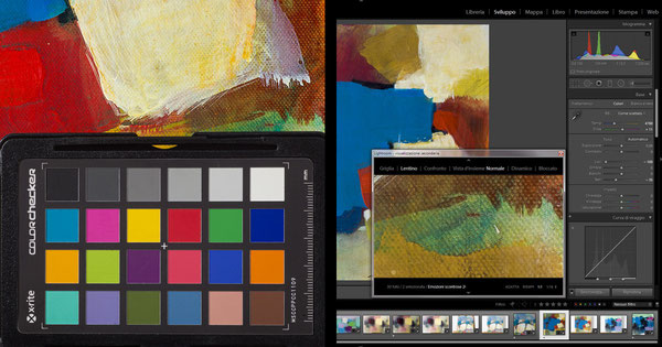 Color Cechcker  e software di calibrazione delle immagini digitali.