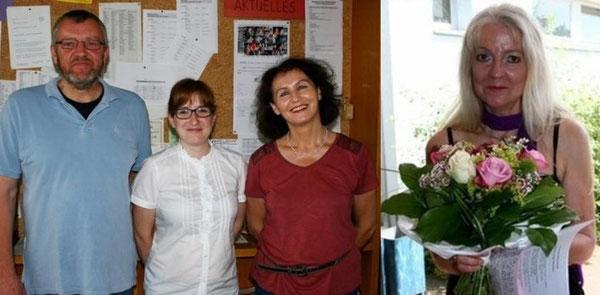 v.l.n.r.: Uwe Gröbel, Nadja Maurer, Traudel Gehrlein, Marliese Hirsch (es fehlt Maren Geiger)