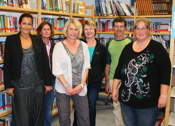 v.l.n.r.: Frau Jaks, Frau Maczek, Frau Wurster, Frau Sollik, Herr Becker und Frau Krug