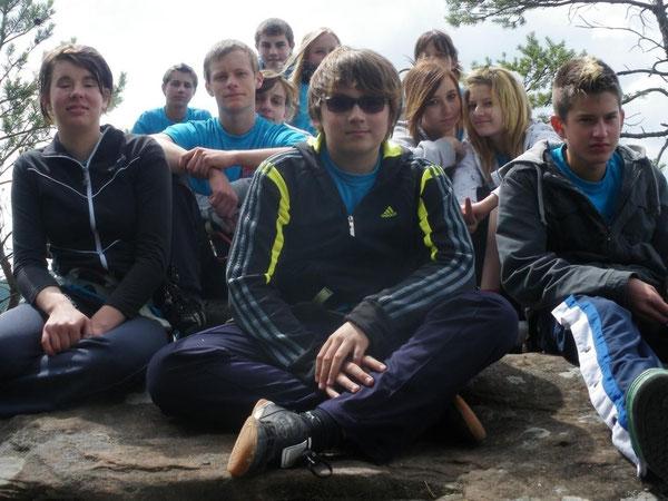 Gipfelglück am Rheinturm