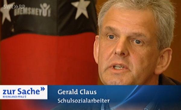 Schulsozialarbeiter Gerald Claus im Interview